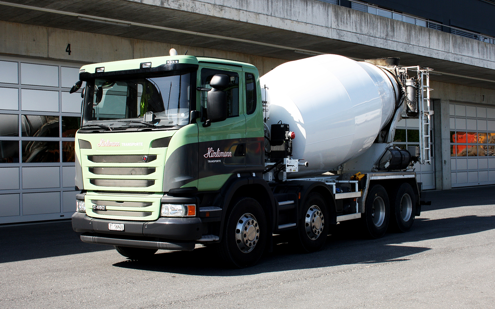Scania G450 - Fahrmischer