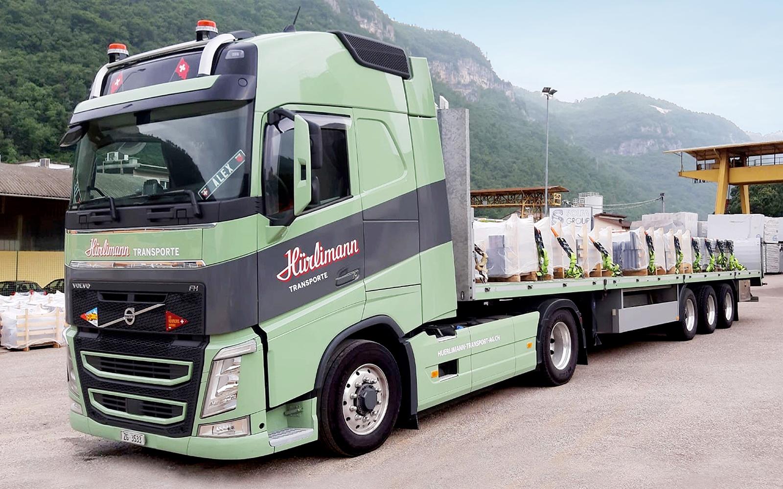 Volvo Sattelschlepper FH 540: Nutzlast 25 Tonnen